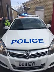 Herts Police Vauxhall Astra (slinkierbus268) Tags: hertfordshire bluelights baldock vauxhallastra hertfordshireconstabulary hertfordshirepolice
