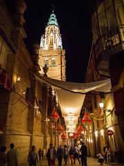 TOLEDO (J. Ruano) Tags: city espaa luz night calle spain catedral toledo corpus cristi