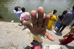 No Photo Pls... (Boodesh Ganeshkumar) Tags: people india building lens photo extreme wide culture tradition melkote peo 10mm