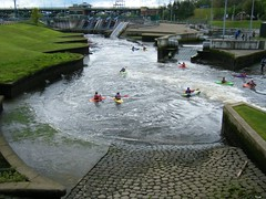 Stockton on Tees, River Tees watersports centre (rossendale2016) Tags: water river whitewater centre national olympic watersports stockton tees rivertees