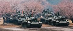 Type 74 and Type 61 tanks (Bro Pancerna) Tags: japanese tank main battle type 74