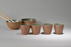 Tea-Bowl-green-brown-06 (cdkceramic) Tags: brown green ceramic teabowl    cdkceramic