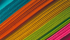 diagonal colors - 163/366 (auntneecey) Tags: abstract macro catchycolors paper colorful stripes day163366 366the2016edition 3662016 11jun16