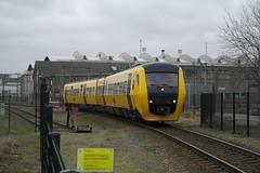 DM'90 34XX ([Publicer Transport] Ricardo Diepgrond) Tags: diesel kampen trein zwolle sprinter dmu spoorwegovergang dm90 treinstel boemeltrein pendeltrein