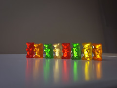 The Gummy Bears Parade. (Asif A. Ali) Tags: naughty bears cellphone samsung galaxy colourful gummy promode note5 colorsinourworld adobelightroommobile