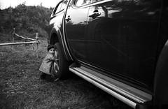 Kernavė, 3 (Vygintas R.) Tags: summer people bw film car child july rangefinder 35mmfilm 2008 lithuania lietuva kernave iso125 nikoncoolscan5000 kernavė литва leicasummicron35mmf20iv gyvosiosarcheologijosdienos kodak125pxplusx125 883708