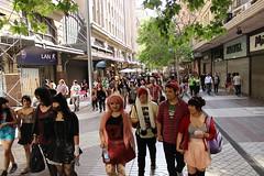 Harajuku/15 (Yenny Huircn M.) Tags: chile street couple paseo harajuku japon ahumada