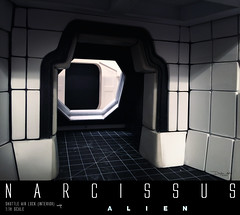 NARCISSUS66 (sith_fire30) Tags: alien narcissus nostromo lifeboat shuttle diorama covenant aliens xenomorph beast styrene ship building scratch custom action figure sculpting prometheus giger ridley scott