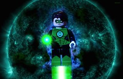 In Brightest Day, in Blackest Night... (BrickSev) Tags: fiction green comics toy toys photography book dc comic lego space indoor books super science jordan hero comicbook superhero scifi comicbooks hal sciencefiction heroes lantern dccomics superheroes greenlantern tabletop minifigure minifigures toyphotography legophotography legosuperheroes legodccomics