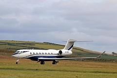 Gulfstream G650 M-SHEF at Isle of Man EGNS 07/07/16 (IOM Aviation Photography) Tags: man isle gulfstream g650 070716 egns mchef
