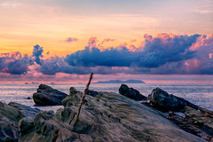 (M.K. Design) Tags: 2016    mk                          taiwan taitung travel mkdesign mosonkuo hdr nikon d800e longexposure ultrawide nature landscapes skyscapes seascapes scenery fireofclouds sea ocean pacificocean rock lake