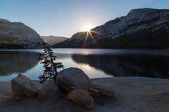 Yosemite National Park: Tenaya Sunrise (kielmaddoxphotography) Tags: yosemite yosemitenationalpark tenayalake tenayapeak landscape landscapephotography canon5dmarkiii canon24105mm