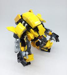 LEGO Robot Mk-3 (ToyForce 120) Tags: lego robot robots mecha mech mechanic mak sf3d weapon gundam ms legomech legomoc