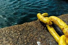 2016-07-22_07-49-47 (jonathon lynam) Tags: nikon nikonphotography nikond40 sea blue howth chain dublin ireland nikcollection stilllife perspective