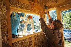 tight work - essentials workshop (The Year of Mud) Tags: theyearofmud naturalbuilding cob clayplaster lightclaystraw berea kentucky southslopefarm