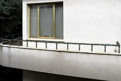 Christmas decorations... with barbed wire? (Alfredo Liverani) Tags: 2642016 project europa italia italy italien italie emiliaromagna romagna faenza faventia faience faenza2016 finestra finestre window windows fenster canong5x canon g5x