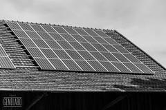 45x sharp ntr5e3e (genelabo) Tags: apsc sony alpha bavaria bayern siliciumphotovoltaics installation pv solar anlage fotovoltaik photovoltaik monokristallines silizium monocrystalline stadl bw sw black white schwarz weis