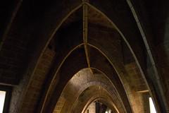 (IlPoliedrico) Tags: barcelona barcellona spain spagna catalunya travel arc lapedrera gaud antonigaud architecture design architettura art modernisme modernism casamil pedrera