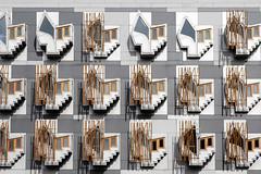 - Windows - (Jacqueline ter Haar) Tags: edinburgh scottish parliament building msp bay windows façade scotland explore architecture design