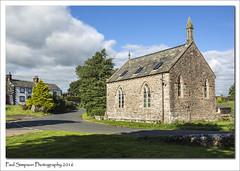 Blencow Village, Cumbria (Paul Simpson Photography) Tags: blencow church cumbria lakedistrict photoof photosof paulsimpsonphotography september2016 stonebuilding chapel villagechurch rural clouds