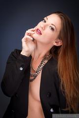 Mac (Pdooma) Tags: mac mackenzie blazer black vogue fashion necklace glamour elegant