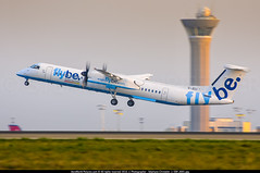 CDG.2011 # BE - Dash 8 Q400 G-JECI - awp (CHRISTELER / AeroWorldpictures Team) Tags: flybe de havilland canada dhc8402q dash 8 cn 4105 gjeci engines 2x pwc pw150a history aircraft jan2005 production site toronto downsview first flight reg cfcqk 10jun2005 delivered be bee leased bombardier config cabin y78 q400 dash8 planes aircrafts regional takeoff yzd cyzd airport paris charlesdegaulle roissy cdg lfpg france runway nikon zoomlenses nikkor 70300vr lightroom