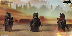 Batman V Superman ~ Knightmare Batman (Logan Fulford) Tags: ben affleck batman batfleck v superman custom lego minifigure minifig fig knightmare nightmare dream mad max apocalypse logan fulford