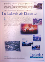Pan Am Flight 103 (Kev Gregory (General)) Tags: information board detailing tragic events pan am flight 103 dryfesdale lodge visitor centre lockerbie scotland kev gregory canon 7d disaster crash boeing 747 terrorist air