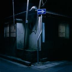 One Way (akira ASKR) Tags: night okinawa 沖縄 provia100f 夜 hasselblad500cm rdpiii uruma うるま市 planarcf80mm 201419