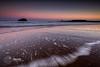 Sunrise at Seacliffe (MacLeanPhotographic) Tags: beach scotland rocks seacliff fujifilm dunbar firthofforth bassrock eastlothian seacliffe xt1 leefilters outermarker lee09ndgrad
