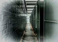Corridor 1 Shower Block (loobyloo55) Tags: sydney australia qstationmanly