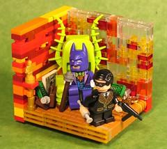 Gotham: Shattered Glass (Grantmasters) Tags: glass robin dc purple batman pimp gotham shattered sdcc pusher