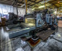 Heidelberg (Mia Battaglia photography) Tags: industrial olympus heidelberg hdr em1 oldmachine fustellatrice
