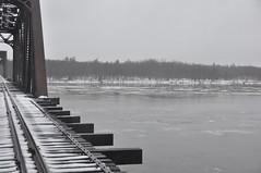 Train trestle Morris Island, Ottawa