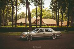 Mercedes-Benz W126 S-Class - Breyton (Rick Bruinsma) Tags: mercedes benz class villa static braun hilversum stance breyton sklasse w126 stanced
