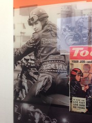 Old Photos 4 (kenjonbro) Tags: uk england london history film apple bike 35mm poster photo display northcircular rocker suv stonebridge acecafe nw10 acecafelondon iphone5 acecorner kenjonbro