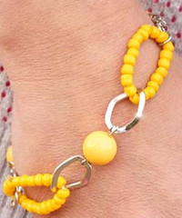 Sunset Sighting Yellow Bracelet K2 P9441-4