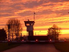 Evening skies at the ferry (Davydutchy) Tags: november autumn sunset sky holland netherlands ferry evening abend zonsondergang skies herbst herfst pont avond lucht friesland fhre hemel 2014 frysln langweer herbstabend langwar brekken pontdyk