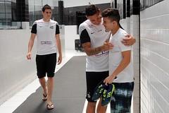 Reapresentao dos atletas do Santos FC no CT Rei Pel (Santos Futebol Clube) Tags: brazil brasil football soccer sp santos 55 futbol ftbol