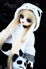 Cossette (1000 No Kotoba) Tags: halloween beautiful japan panda sweet 14 gothic korea cutie sd kawaii bjd 16 dd dollfie blondehair 13 abjd msd cossette balljointeddoll dollheart leeke yosd leekeworld makoeyes