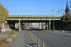 Spoorwegbrug, Antwerpen (Erf-goed.be) Tags: geotagged brug antwerpen archeonet spoorwegbrug antwerpendam geo:lat=512318 langelobroekstraat geo:lon=44264