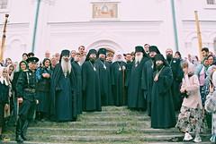 61. Освящение Успенского собора митр. Владимиром 2000 г