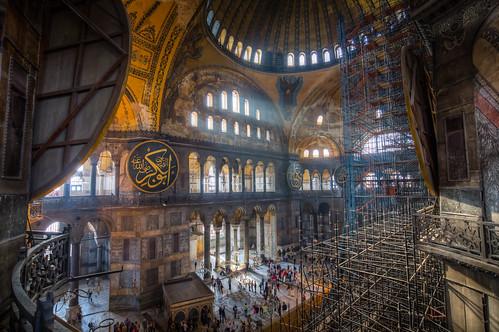 Hagia Sophia (under restoration)