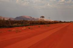 Kintore Road (Darren Schiller) Tags: road red landscape desert northernterritory alicesprings centralaustralia redcentre westmacdonnellranges mountliebig