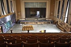 Theatre Jeusette (RickyJanse) Tags: abandoned nikon theater belgium theatre decay forbidden forgotten urbanexploration grime urbex forbiddenplaces forgottenplaces d7100 jeusette urbexworld grimenation