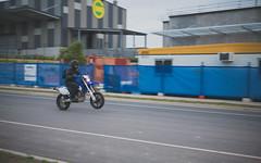 #309 Wheelie Practice (Tristan#) Tags: supermoto yamaha wheelie motard wr450f