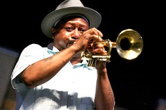 THIS WEEKEND (Saturday, Noon-Midnight)! Kermit Ruffins will elevate us all! Our friends at the Highland Jazz & Blues Festival are promising a kickass time, so make your way down to Columbia Park! Did we mention that it's FREE?