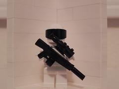 Jumanji USAS-12 Sniper (CommandoM82) Tags: lego daewoo shotgun jumanji sniperrifle aa12 brickarms usas12