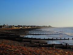 Bognor Beach (alexinatempa) Tags: sea england seascape beach landscape sussex pebbles bognorregis breakwater