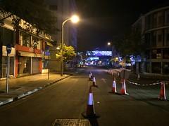 Nicosia late at night (loxias) Tags: street night cone nicosia